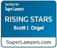 Super Lawyers Rising Stars Scott Orgel